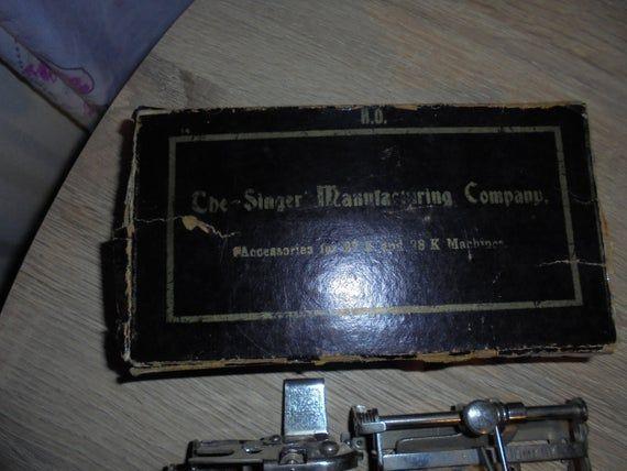 Singer 27K & 28K Sewing machine accessories/attachment