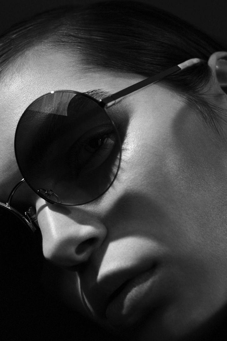 Sandra Schmidt for Victoria Beckham Eyewear Fall-Winter 2016 Ad Campaign