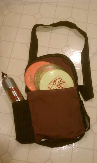 Simple Disc Golf Bag...Yes love this!