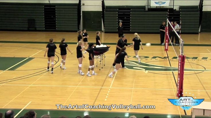 Scrap Drill - Art of Coaching Volleyball