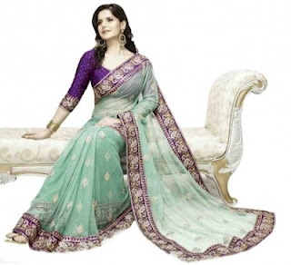 IndianHanger: Traditional Indian Clothes and Jewelry: Dazzle Your Wedding Day with Beautiful Wedding Saree