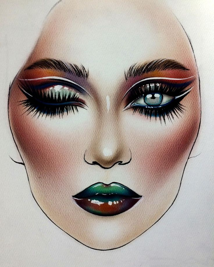 makeup drawings mugeek vidalondon Clip Art Apple Computer Clip Art