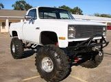 1984 Chevrolet C/K Pickup 1500 Lifted Truck For Sale