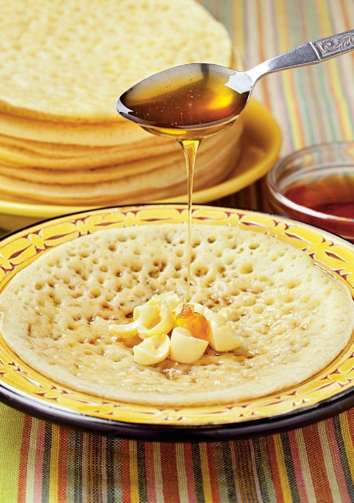 Clătite marocane   Retete culinare - Romanesti si din Bucataria internationala