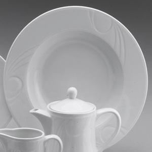 Farfurie pentru paste din colectia Karizma. Este realizata din portelan si are diametrul de 300 mm.