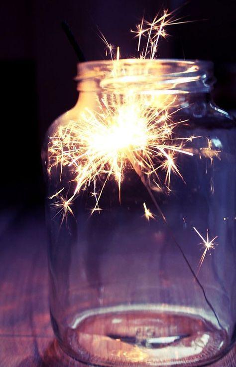 Light sparkler photography