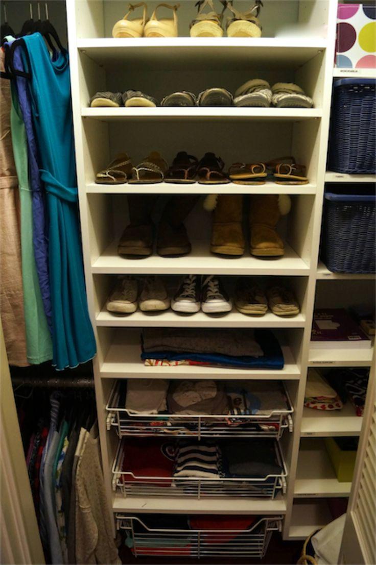 Kuzaku0027s Closet Teen Closet Organization