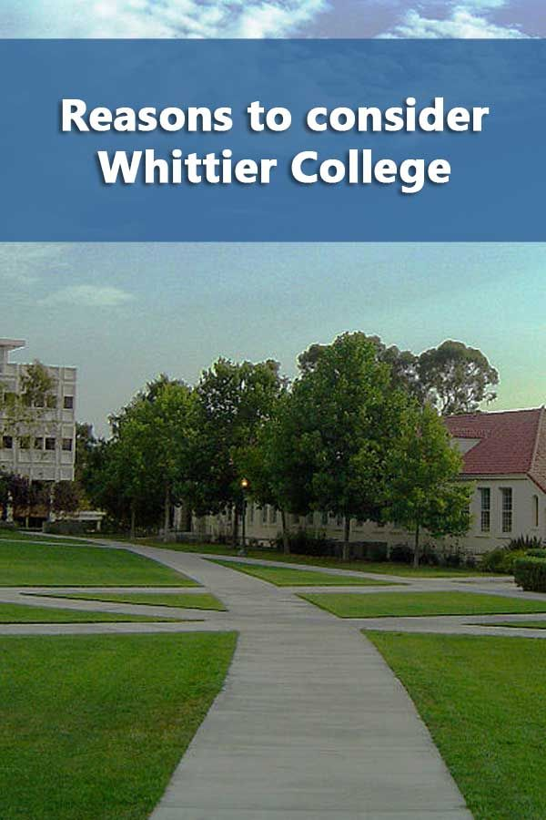 50 50 Profile Whittier University Scholarships For College College Rankings Financial Aid For College