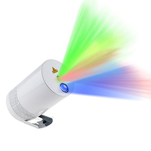 Portable laser light projector imaxplus cordless indoor for Best portable laser projector