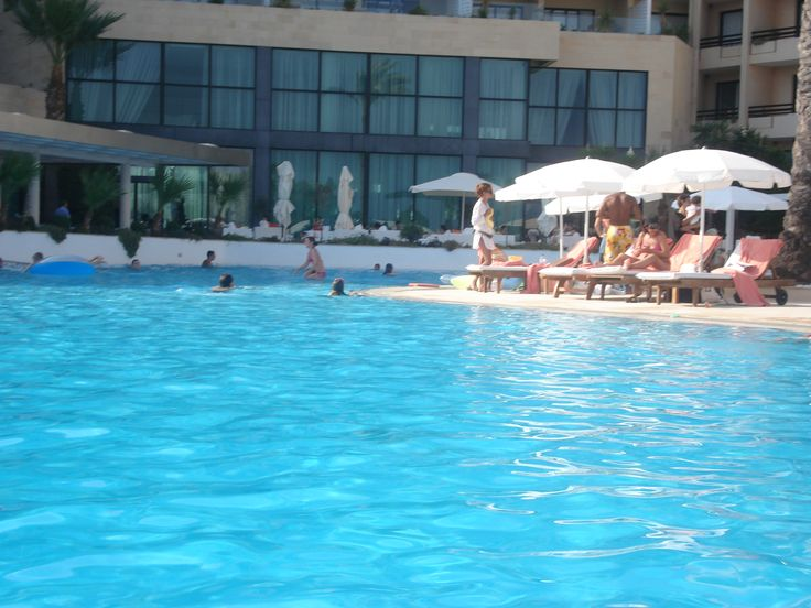 Poolside at the 5 star Grecian Park Hotel, Protaras, Cyprus