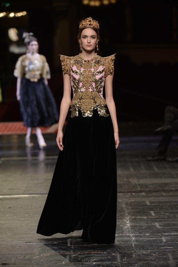 Défilé Dolce & Gabbana Alta Moda Haute Couture printemps-été 2016 40