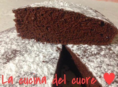 Torta al cioccolato sofficissima (solo albumi