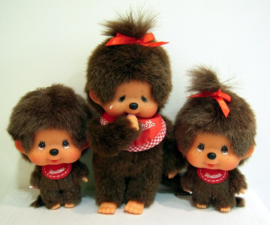 monchichi! I had one of these, when I was a teenager. I thought they were so cute.
