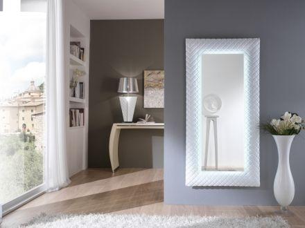 Zrcadlo Moonstone WHITE 160x79