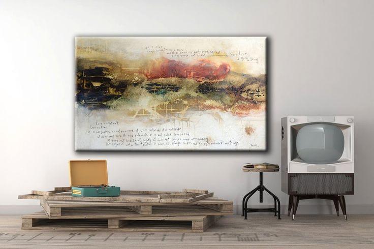 #061507  1 Corinthians 13:3-7  Canvas Art Print