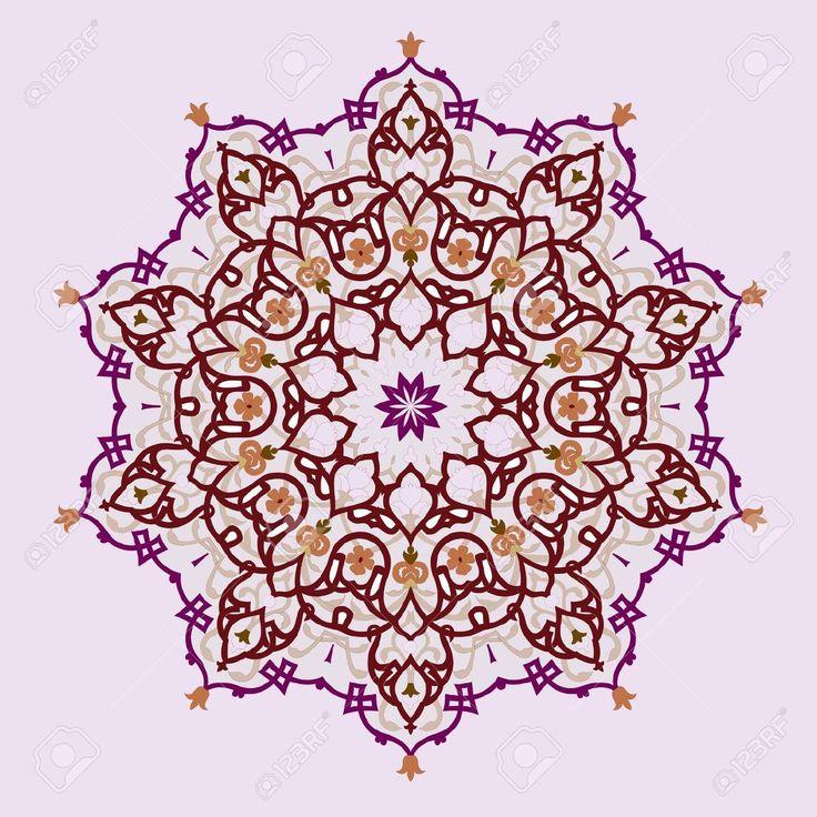 Vektor Der Traditionellen Persischen-Arabic-Türkisch-Islamische Muster Lizenzfrei Nutzbare Vektorgrafiken, Clip Arts, Illustrationen. Image 19694694.