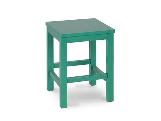 Scandinavian Designs - Small, versatile accent table adds a splash of color to any room. Use as an end table, tv tray or foot stool. Available in teal, red or white. Sold out in Northern California.