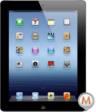 New iPad, or just iPad 3, from 535.00€