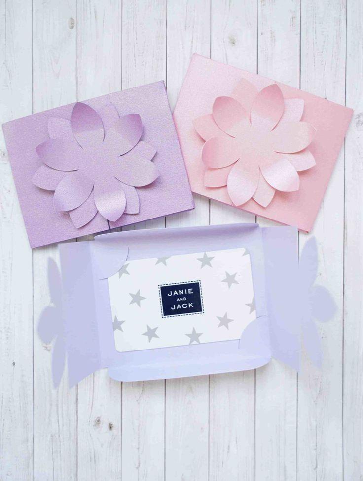 Cricut card making tutorials gift card envelope gift