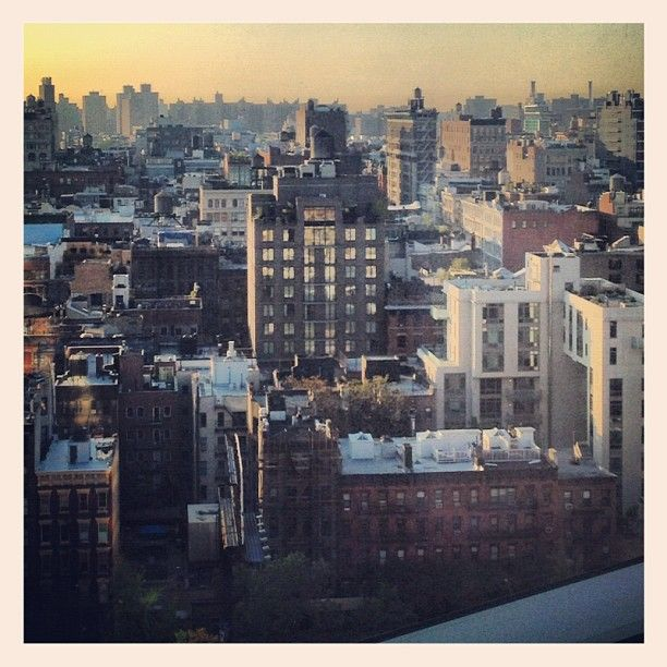 A beautiful SoHo New York City morning view from Trump SoHo - Courtesy of @Brittany Deterding
