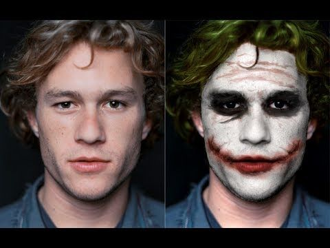 How to look like the Joker, Heath Ledger style - YouTube