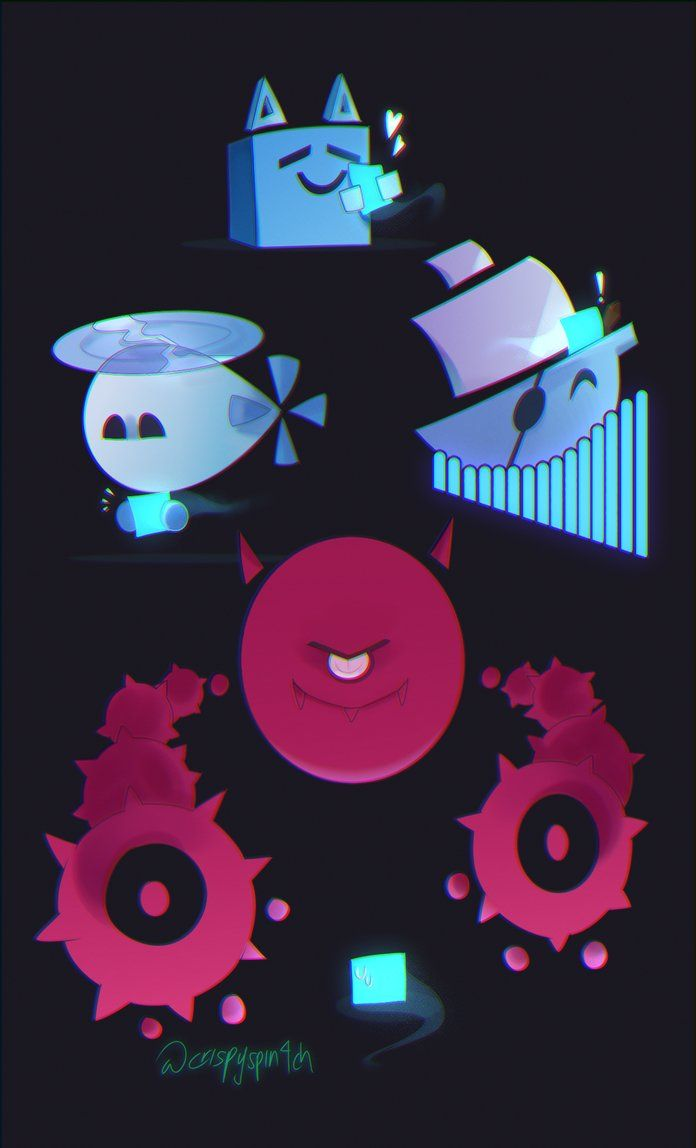 Just Shapes And Beats By Creamycheezy45 Cool Artwork Shapes Beats