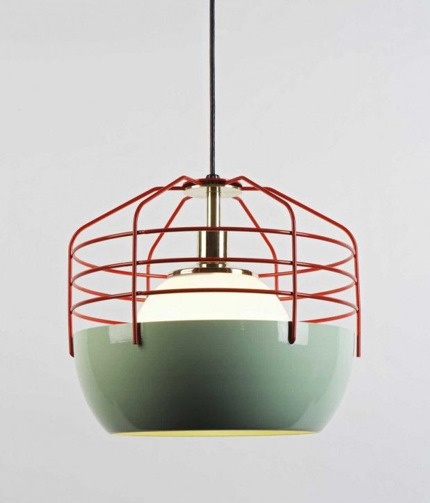 Roll and Hill light fixture