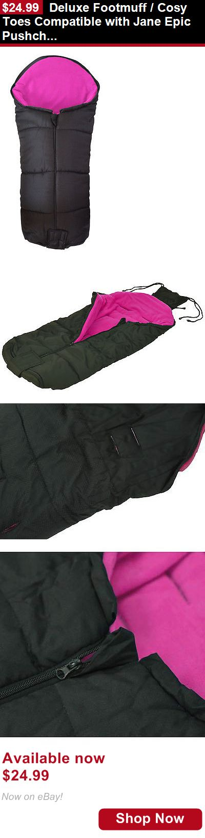 Footmuffs: Deluxe Footmuff / Cosy Toes Compatible With Jane Epic Pushchair Pink BUY IT NOW ONLY: $24.99