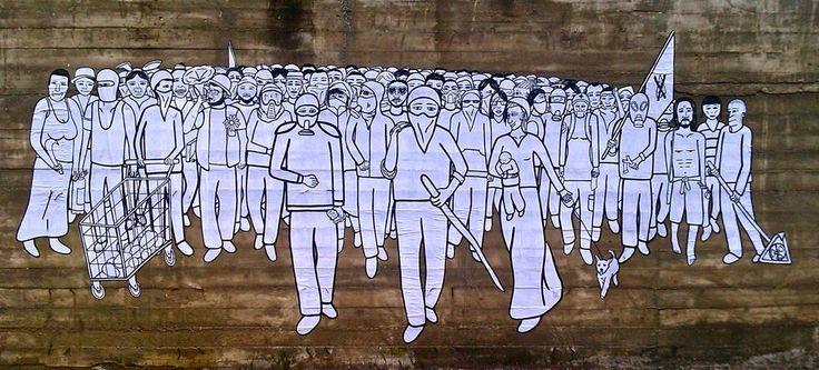 Gec, Gaglione, street art