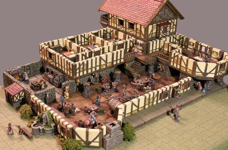 Feymous, dwarven forge le donjon en 3D