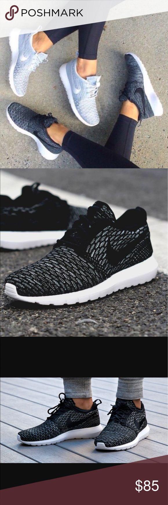 Nike fly knit roshe runs Gently worn! So cute! Nike Shoes Sneakers