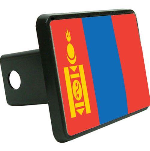 Mongolia Flag Trailer Hitch Cover