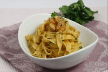 How To Cook Fettuccine with Shrimp Cream and Brandy | Your Italian Recipes