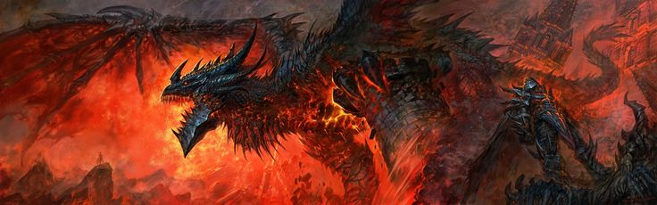 dragons World of Warcraft deathwing artwork World of Warcraft: Cataclysm
