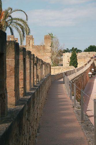 The Roman Walled Town of Alcúdia, Spain. #travel #bucketlist #historicalplaces
