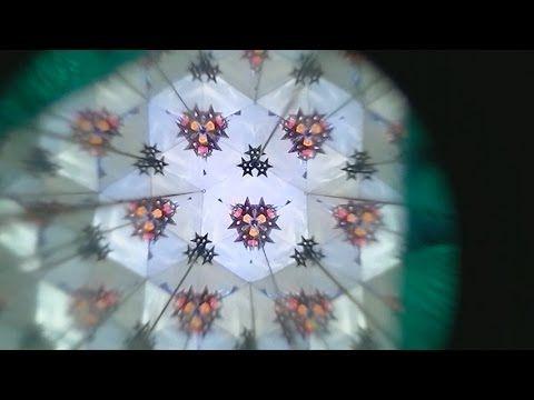 Como Hacer un Caleidoscopio ( Kaleidoscopio) Casero--How to Make a Kalei...