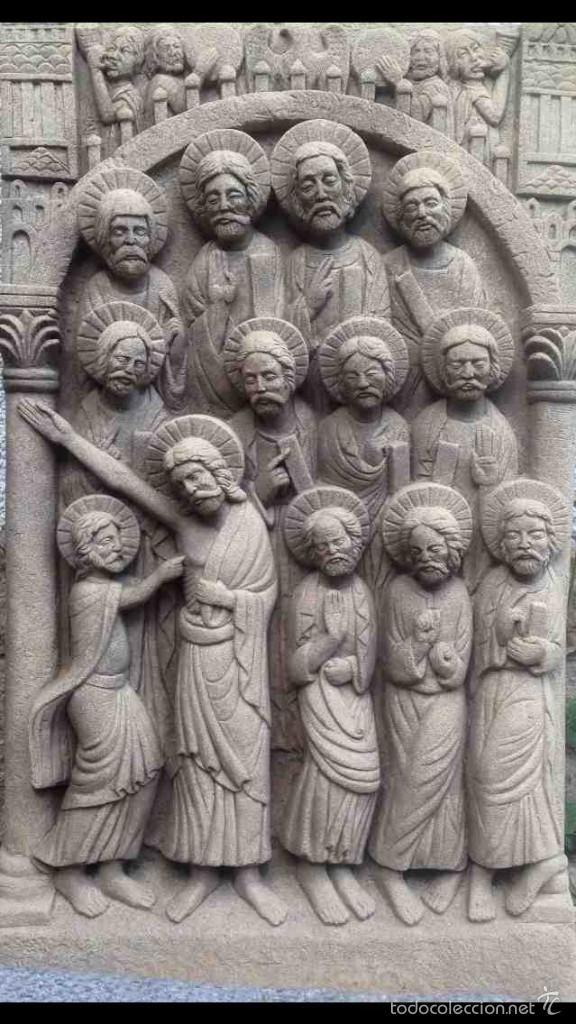 Tabla de los Apóstoles - Duda de Sto. Tomás - Reproducción - Foto 1