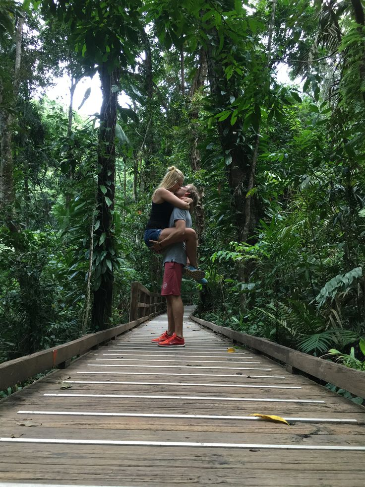 Jungle couple.   Australia | Travel |  Water | Inspo |  Couple |  Photography | Sunset | Jungle