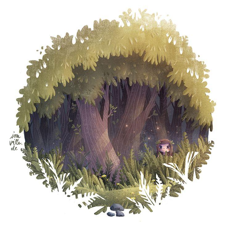 hideaway (GIF animation) by Iraville.deviantart.com on @DeviantArt