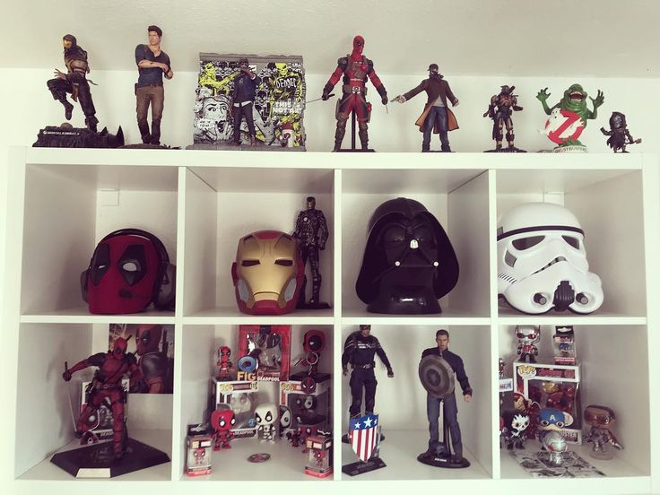 I definitely need more space  #marvel #funkopops #funko #collectibles #ironman #captainamerica #avengers #hulkbuster #deadpool #mask #hottoys #starwars #stormtrooper #darthvader #disney #qfig #nathandrake #scorpion #watchdogs #destiny #ghostbusters
