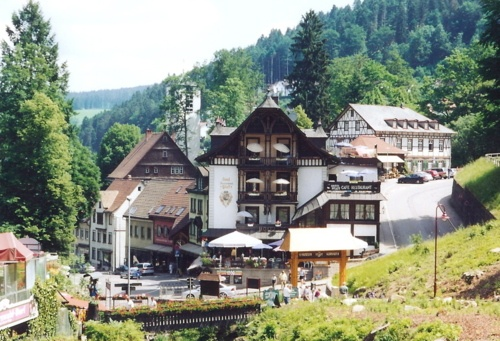 Triberg, in the Black Forest of Germany