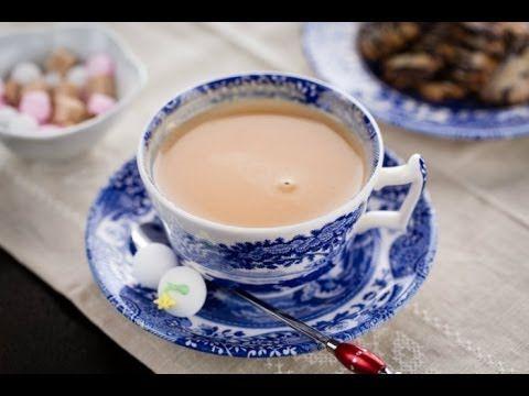 How to Make Royal Milk Tea (Recipe) ロイヤルミルクティーの作り方(レシピ)... oh my god, YES. I could prob sub almond milk, too