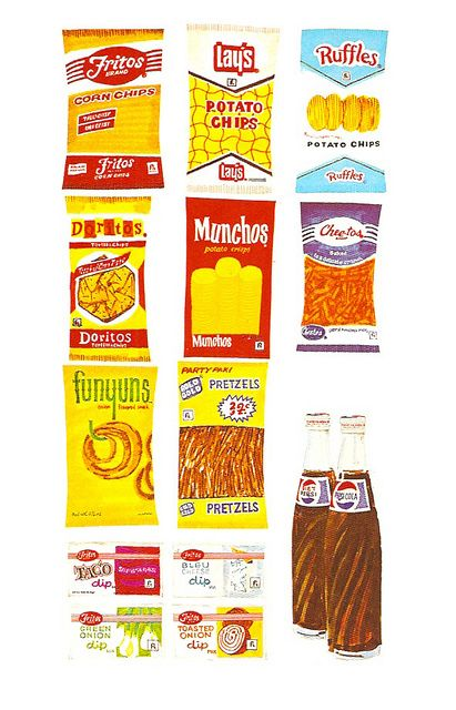 Vintage Frito-Lay Illustration by gregg_koenig, via Flickr