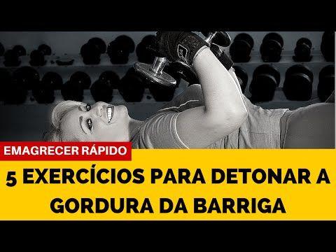 5 Exercícios para Detonar a Gordura da Barriga e Emagrecer - Corpo de 21 - YouTube