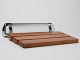 Teak Shower Bench - contemporary - shower caddies - other metros - by Waterworks