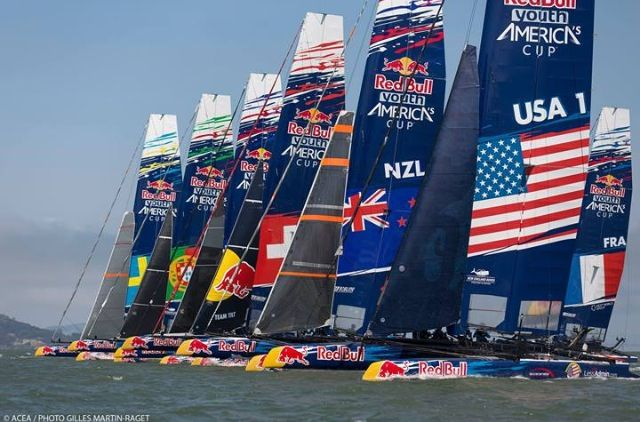 America's Cup 2013 - see you on Sunday in SF on the Mustard Deck, Oracle Team!