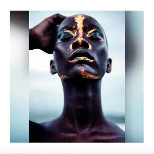 """Meet Obsidian: """"Forward she slinks, loosening her Obsidian limbs, rolling her stunning head back and forth on her long slender neck, running her filthy hands over the perfectly smooth, oil-slick skin of her skull."""""""