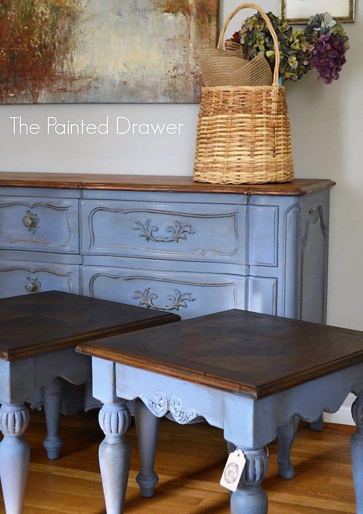 Old Violet Love Painted Furniture Desk Annie Sloan Chalk Paint Furniture Annie Sloan Painted Furniture