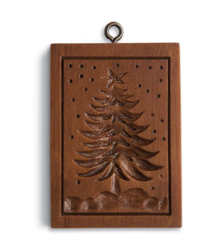Frosty's Tree: House on the Hill, Inc., Springerle and Speculaas Cookie Molds for Baking, Crafting, Decorating