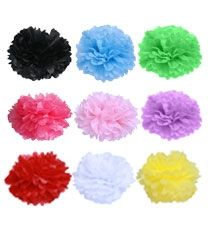 Pink tissue pom poms ONLY $1.50 www.sweetlittlesoiree.com.au